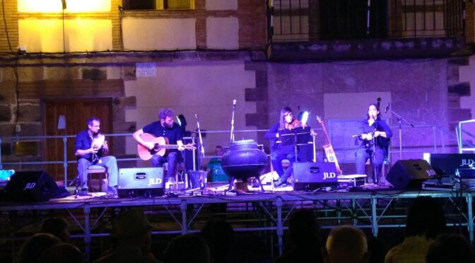 Alann Bique Quartet en Valgañón